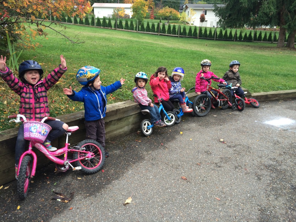 Bikes, trikes and scooter fun!